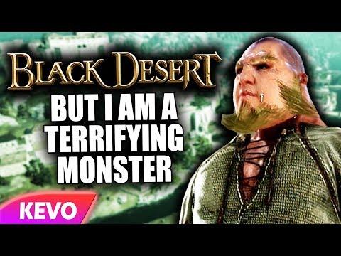Black Desert Xbox but I'm a terrifying monster