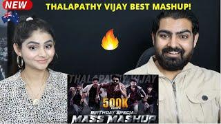 Thalapathy Vijay Birthday Special Mashup 2021 Reaction ♥️   Jomin Joseph  