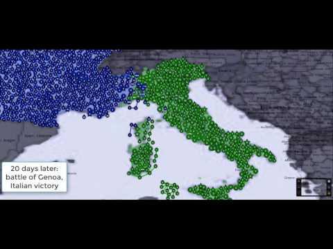 France vs Italy war simulation