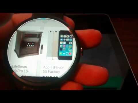 Moto 360 - Web Browser & Android Wear Setup