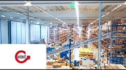 GEBHARDT - state-of-the-art warehouse technology at ETRA Oy in Finland