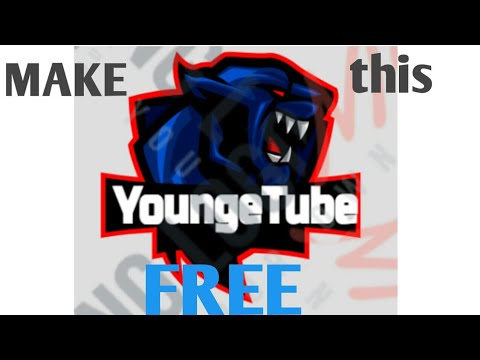 How to make gaming logo on android make sure to watch till end - YouTube
