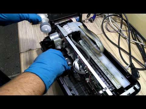Инструкция по замене ролика захвата Epson L110