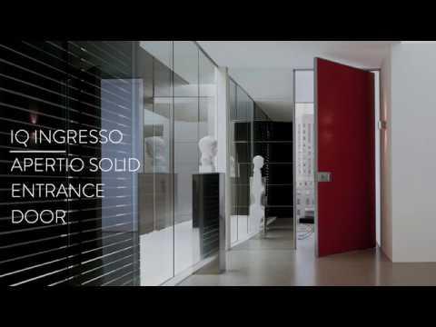 Apertio Solid Entrance Door at the IQ Showroom