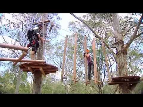 TreeTop Adventure Park Sydney as featured on Sydney Weekender