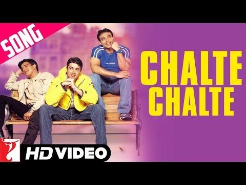 Chalte Chalte - Song   Mohabbatein   Uday Chopra   Jugal Hansraj   Jimmy Shergill