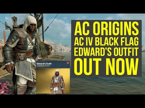 Assassin's Creed Origins Outfits NEW AC IV Black Flag Outfit OUT NOW (AC origins Outfits)