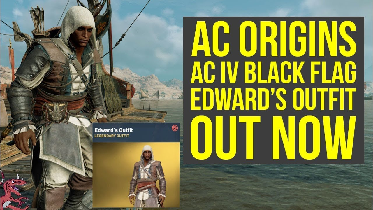 Assassin S Creed Origins Outfits New Ac Iv Black Flag Outfit Out