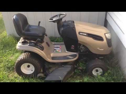 SOLVED Hi We Have A Craftsman DYS 4500 Riding Mower Fixya