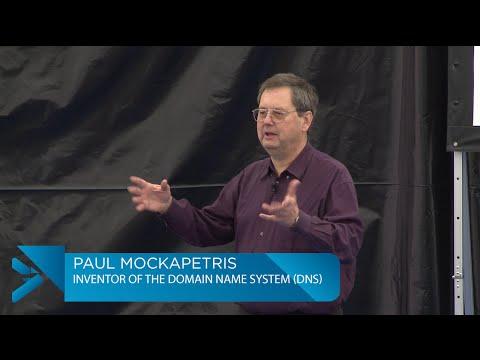 SINFO 23 - Paul Mockapetris (DNS)