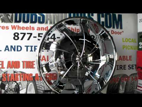 www.DUBSandTIRES.com 32 Inch Rims Starr Bear 569 Chrome 32 Inch Wheels Starr 32 Inch ChromeRims