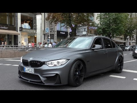 Loud BMW M3 F80 w/ Akrapovic Straight Pipes!