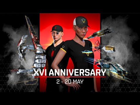 EVE Sweet 16 - Login For The Gifts - !giveaway - EVE Online