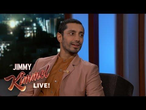 Riz Ahmed on Venom & Tom Hardy