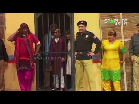 Sohail Ahmed and Akram Uddas New Pakistani Stage Drama  Kali Chader  Full Comedy Clip
