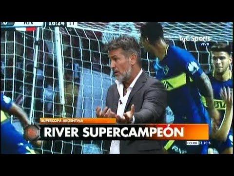 Diego Díaz, Azzaro duros con Boca, Tévez y elogios a Gallardo: