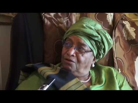 SPECIAL INTERVIEW WITH PRESIDENT SIRLEAF