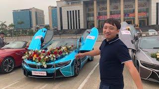 Chủ Tịch SVM Chơi Lớn Thử Lái BMW i8 Đi Hỏi Vợ Và Cái Kết