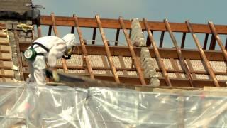 Dakrenovatie asbestsanering