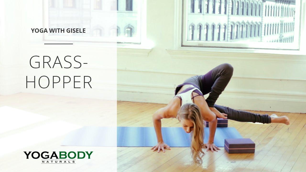 How to Do Grasshopper Pose