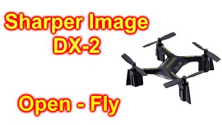 Sharper Image Dx 2 Stunt Drone Unbox And Fly First Flight Dx2