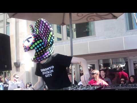 "Deadmau5 - Live - Daft Punk ""Harder, Better,Faster,Stronger""- HD - Intervention(San Diego)"