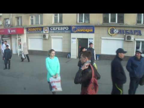 #129 Кемерово Вокзал Экскурсия из окна маршрутки