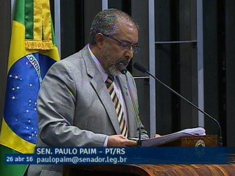 Paulo Paim critica PEC da desvinculação da receita e diz que medida vai levar saúde ao colapso