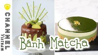 Bánh dành riêng cho fan cuồng Matcha