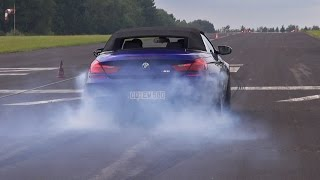 BMW M6 F12 Convertible vs BMW M6 F12 BBM M700BT vs BMW X5M