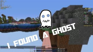 FINDING A GHOST IN MINECRAFT BEDWARS (Hypixel Bedwars Series)
