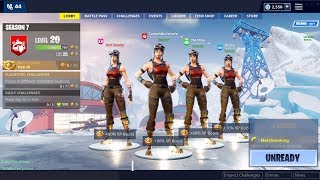 the sweatiest Fortnite squad ever.. (4 Renegade Raiders)