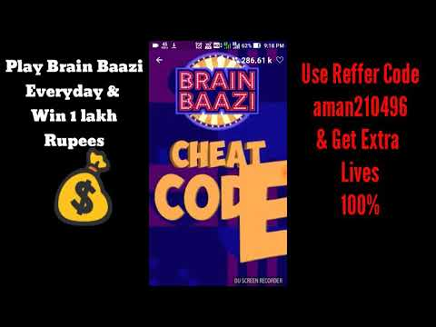 BRAIN BAAZI CHEAT CODE FOR 23TH APRIL AT 9:00 PM | CHEAT CODE | WIN 1 LAKH 💰 | #Brainbaazi