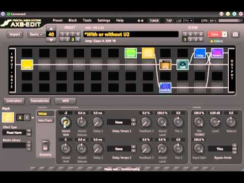 axe fx ii to ax8 preset conversion youtube. Black Bedroom Furniture Sets. Home Design Ideas