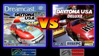 Daytona USA 2001 Vs Daytona USA Deluxe - National Park Speedway
