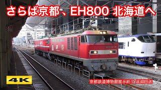 ありがとうEH800 !!! 京都から五稜郭へ返却回送 2018.2.3【4K】