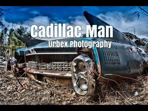 Cadillac Man - Urban Exploring Old Car Junkyards - Urbex Photography