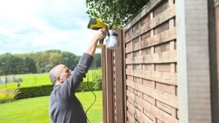 Peindre des clôtures en bois / Houten schuttingen schilderen