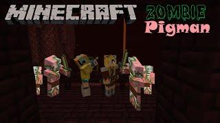 Zombie Pigmen Attack - Minecraft