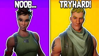 RANKING ALL DEFAULT SKINS FROM WORST TO BEST in Fortnite! (2019 Updated!)