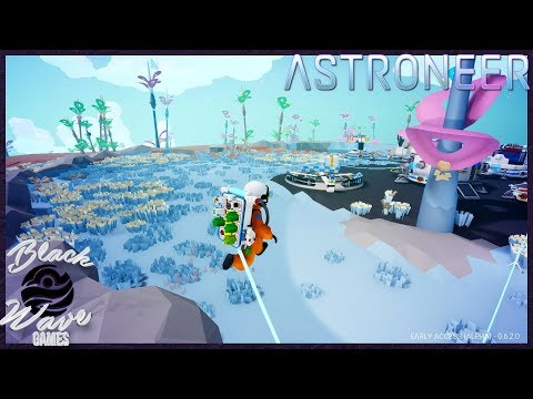 ASTRONEER #1 - Base Organization & Material Collection