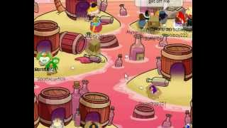 club penguin how to get box hat on april s fool day