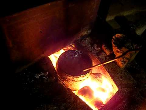 Home Made Aluminum Smelter Youtube