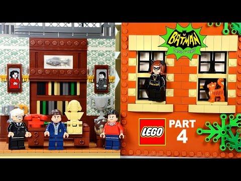 LEGO® Batcave & Wayne Manor 76052 Batman Classic TV Series DC Comics™ Part 4 Speed Build