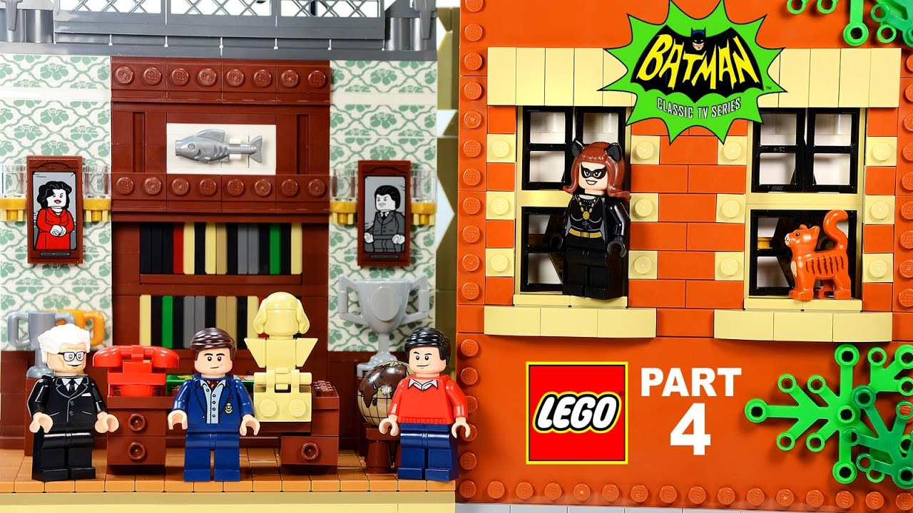 lego batcave wayne manor 76052 batman classic tv series. Black Bedroom Furniture Sets. Home Design Ideas