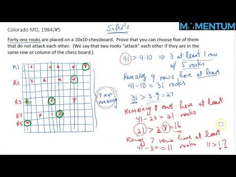 1984 Colorado MO Problem #5 (Pigeonhole Principle)