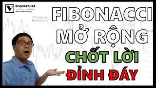 ✅ Fibonacci Mở Rộng - Tuyệt Chiêu Chốt Lời CHÍNH XÁC Tại Đỉnh Đáy Thị Trường