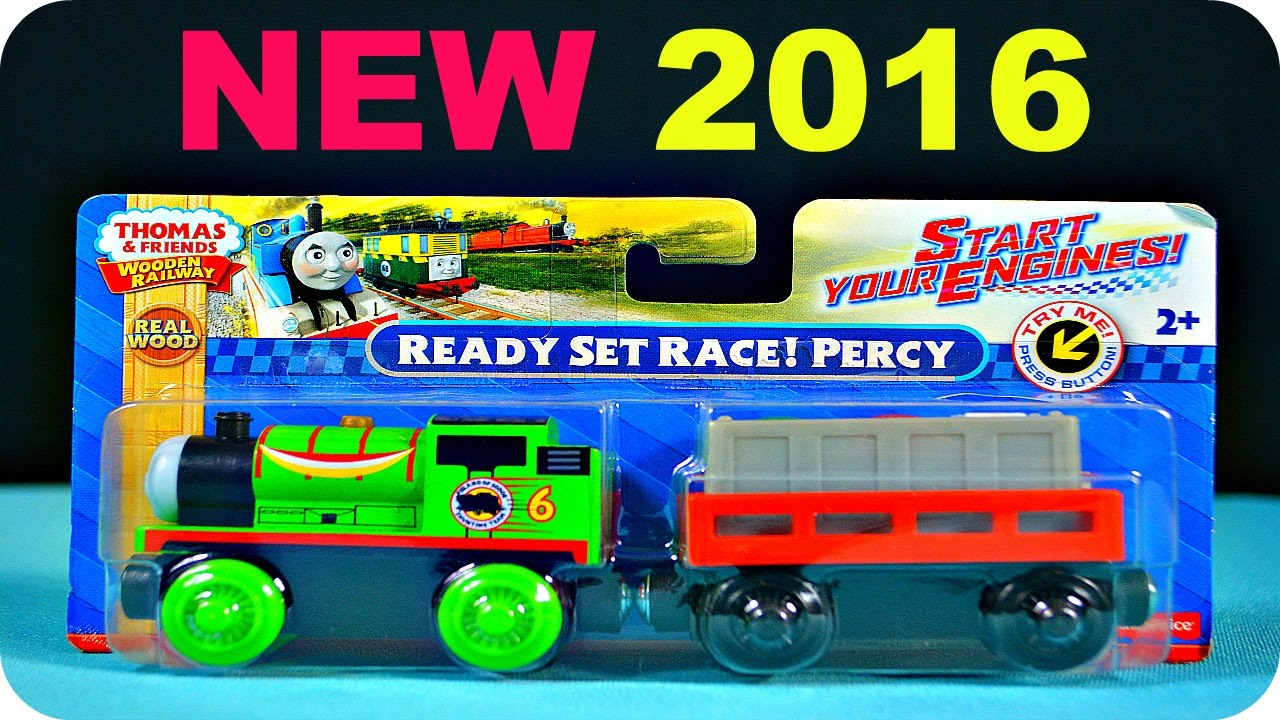 Ready Set Race Percy 2016 Thomas Wooden Railway Review