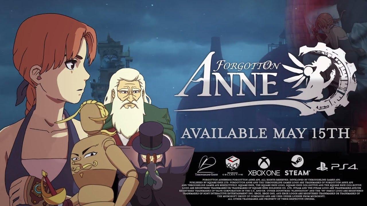 Forgotton Anne' is a puzzle-platform game hidden inside an anime