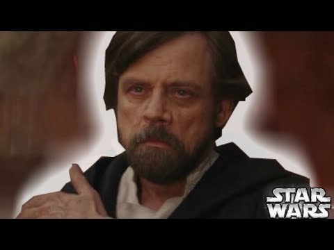 Luke Skywalker's NEW Force Powers Explained By Rian Johnson – Star Wars Explained